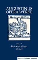 Augustinus: De immortalitate animae