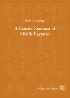 Concise Grammar of Middleegyptian